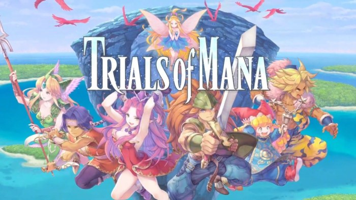 Trials of Mana: Trailer de lançamento, 1 hora de gameplay e demo anunciada