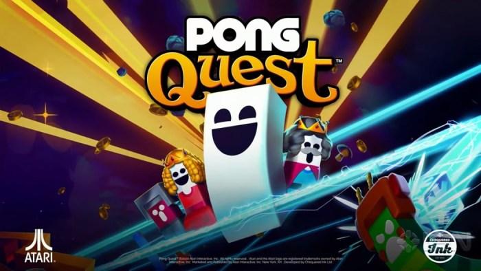 Não é pegadinha de 1º de abril: o clássico PONG vai virar um RPG em PONG Quest!