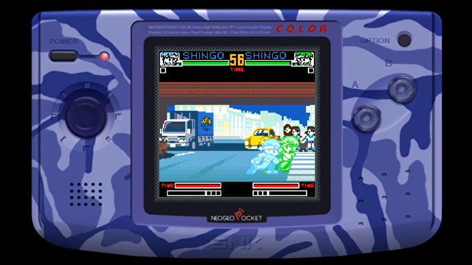 SNK anuncia games de Neo Geo Pocket para o Nintendo Switch