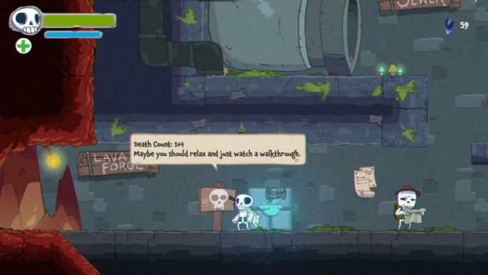 Análise Arkade: Skelattack, um Metroidvania que tem problemas, mas esbanja carisma