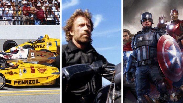 O que a Indy 500, Chuck Norris e os Vingadores tem em comum?