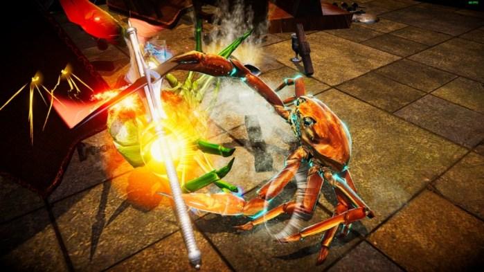 Análise Arkade: a bagunçada briga de caranguejos de Fight Crab