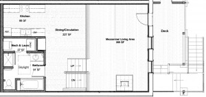 Laurel apartment floor plan