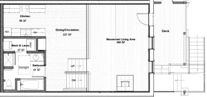 Laurel apartment floor plan