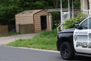 K-9 Team Tracks Fleeing Suspect To Storage Shed; Arrest - HOT SPRINGS - Arkansas 911 News