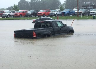 Flash flood warning issued - Hot Springs