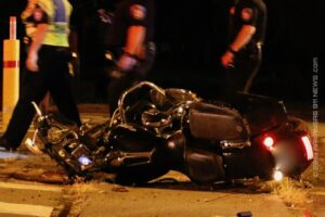 Serious Injury Motorcycle Crash On E. Grand At RR Tracks – HOT SPRINGS