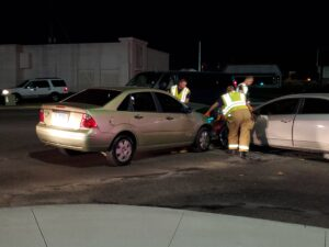 Traffic Crash At New Airport Road Traffic Control Light – HOT SPRINGS