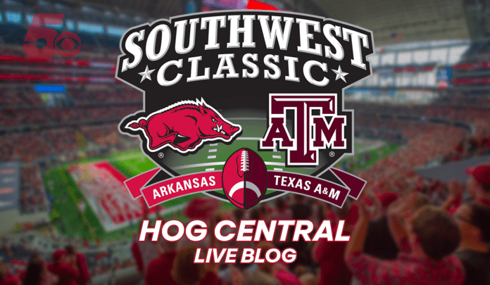 Game Day Blog: Arkansas Moves Into Red Zone Looking For Response
