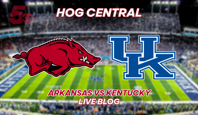 Game Day Blog: Hogs Come Up Empty On Another Red Zone Possession