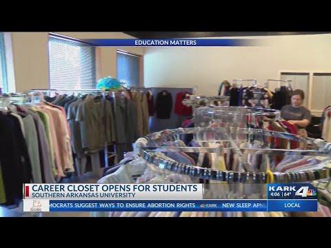 VIDEO: SAU Career Closet helps students land jobs