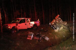 Rollover Crash On Hwy. 70E Near The Rest Area – GARLAND COUNTY