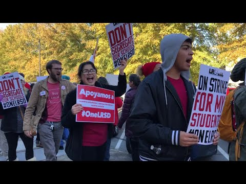 VIDEO: LRSD Strike- Rally