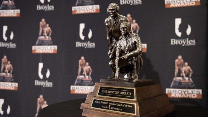 Broyles Award Announces Five Finalists