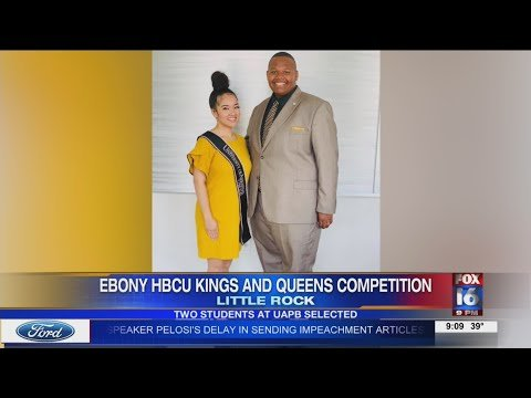 VIDEO: Two UAPB students selected for Ebony HBCU Kings and Queens competition