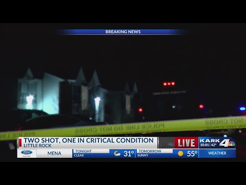 VIDEO: Double shooting in Little Rock, one in critical condition