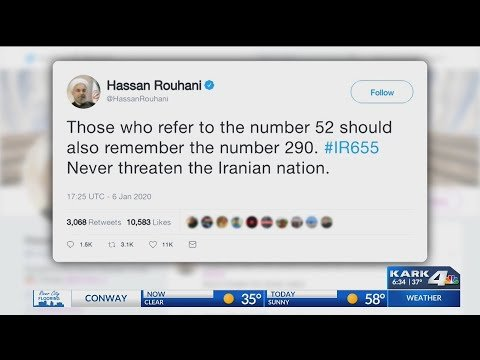 VIDEO: Iran warns President Trump to stop making threats