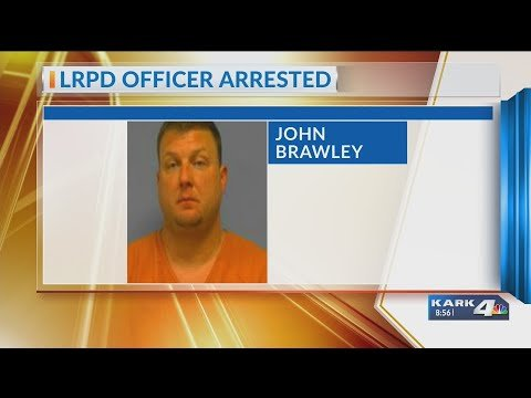 VIDEO: LRPD Detective Arrested