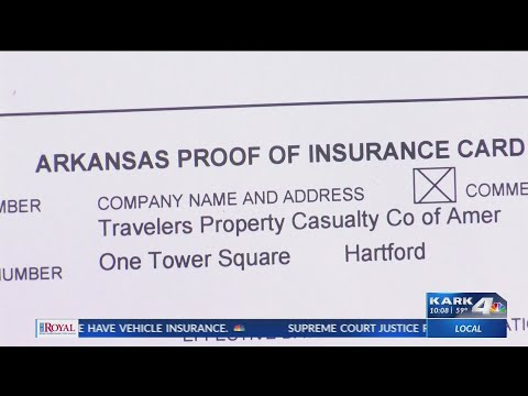 VIDEO: New Arkansas auto insurance law goes into effect