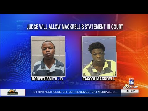 Watch: Judge allows statements of accused killer in Faulkner County kidnapping, murder case