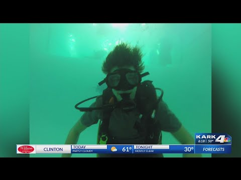 Watch: Learning Scuba Diving with The Fearless Rock Diving Team