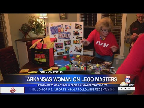 Watch: Rogers woman competes in TV LEGO contest