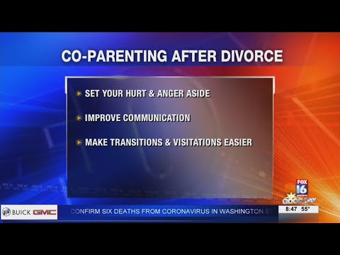 Watch: Co-parenting after divorce