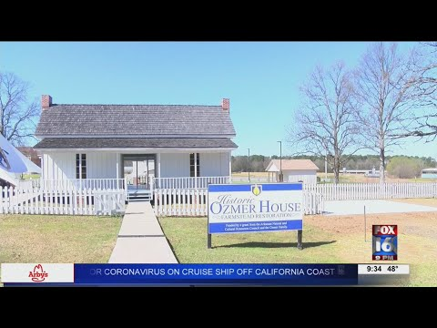 Watch: Southern Arkansas University dedicates historic farmstead and learning center