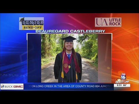 Watch: Senior Send-Off: Beauregard Castleberry