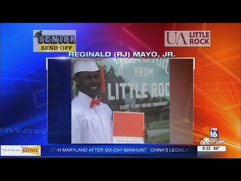 Watch: Senior Send-Off: Reginald Mayo, Jr.