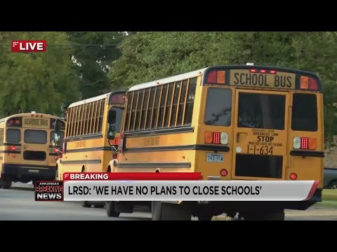 Watch: LRSD moves forward with in-person classes, teachers union switches to virtual
