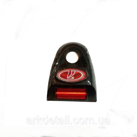 Накладка замка багажника ВАЗ-2108-099 (светоотражатель)