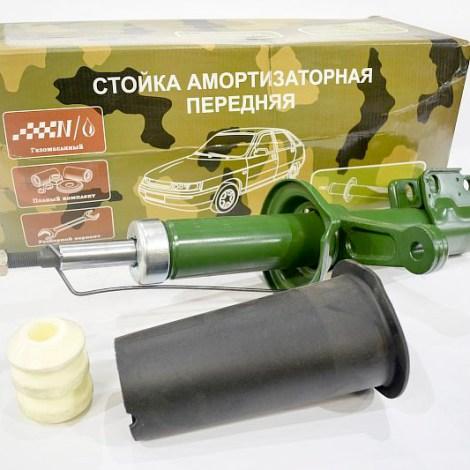 Амортизатор передний левый на ЗАЗ 1102 (стойка в сборе) газ-масло / разборной