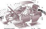 Кузов и комплектующие ВАЗ 2108