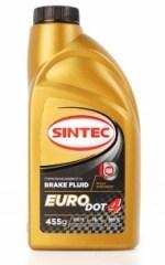 Тормозная жидкость SINTEC EURO DOT-4 tk 265оС, 0,455л