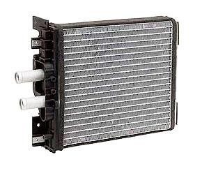 Радиатор отопителя на ВАЗ 1118/2170 с кондиционером PANASONIC алюминиевый -паяный