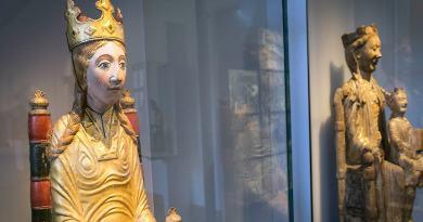 Ur arkivet: Ny upptäckt visar att den gotländska Viklau-madonnan från 1100-talet har burit på en relik