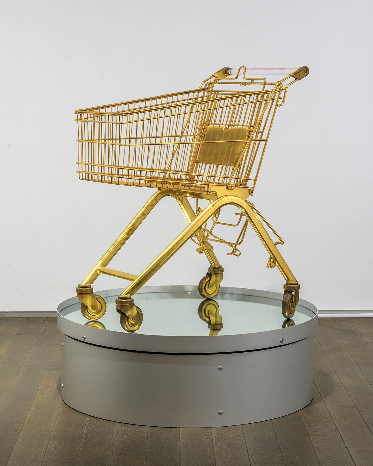 Sylvie Fleury, Serie ELA 75K (Won't Smudge Off), 2000. © Sylvie Fleury. Photo Charles Duprat. Courtesy Galerie Thaddaeus Ropac, London • Paris • Salzburg