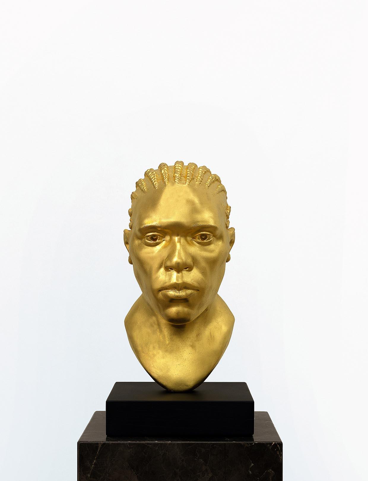 Thomas J Price, Untitled (Icon 1), 2017. Courtesy kunstneren