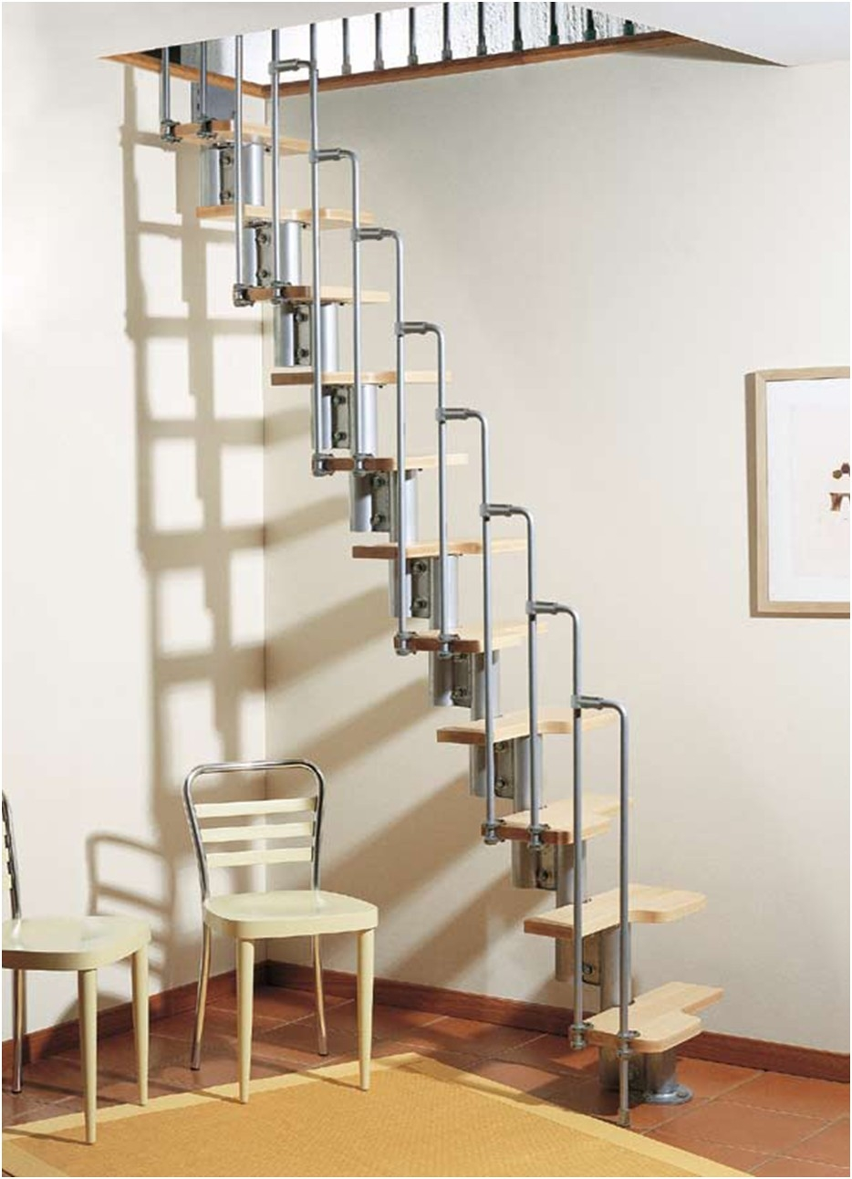 Karina Modular Staircase Kit Metal Steel And Wood Spiral | 12 Foot Spiral Staircase | Lowes | Stair Treads | Black Spiral | Steel | Gray Interior