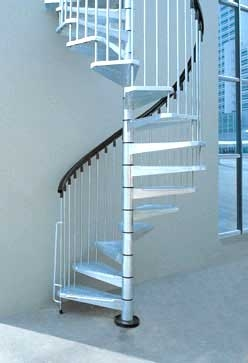 Metal Outdoor Spiral Staircase Exterior Stairs | Painting Metal Spiral Staircase | Handrail | Iron | Stair Treads | Steel | Staircase Kit