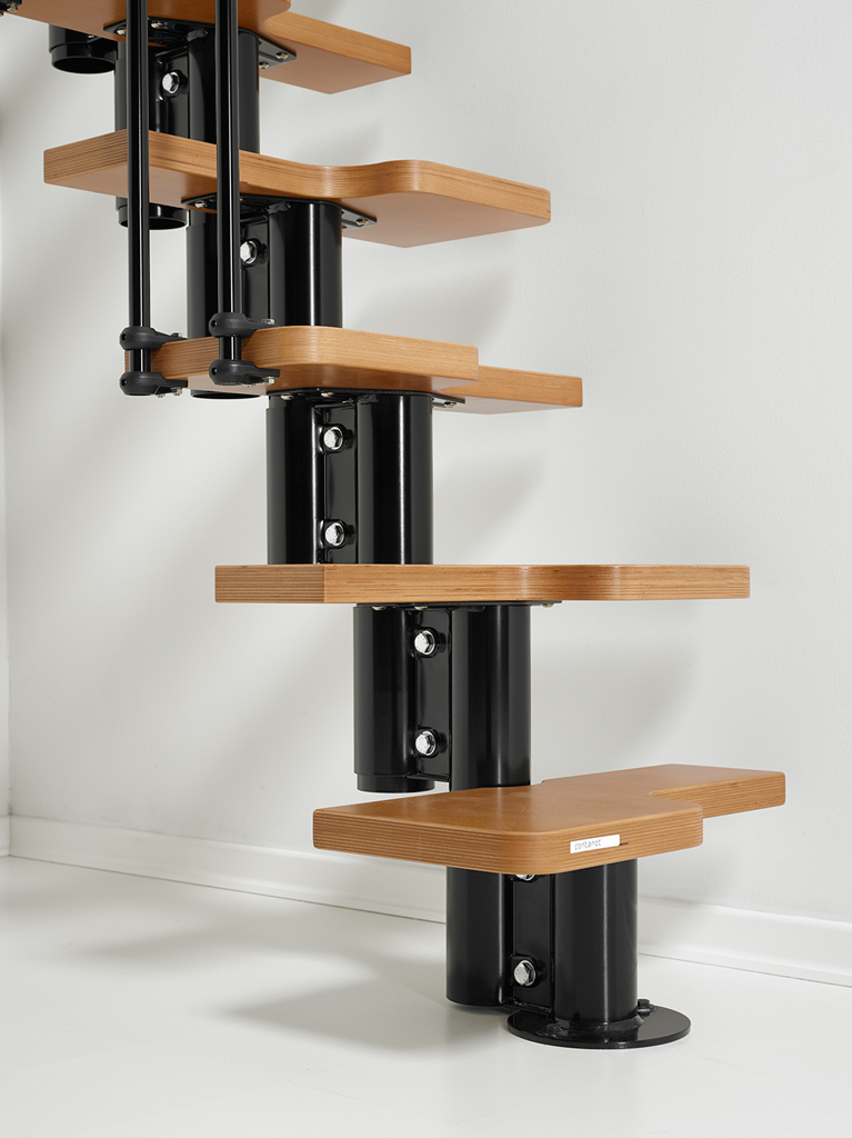 Nice 2 Metal Steel And Wood Spiral Staircase Fontanot