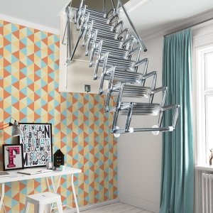 Fontanot Arke Diy Staircase Kits Online | Spiral Staircase To Attic | Easy | Adding | Stairway | White | Corner