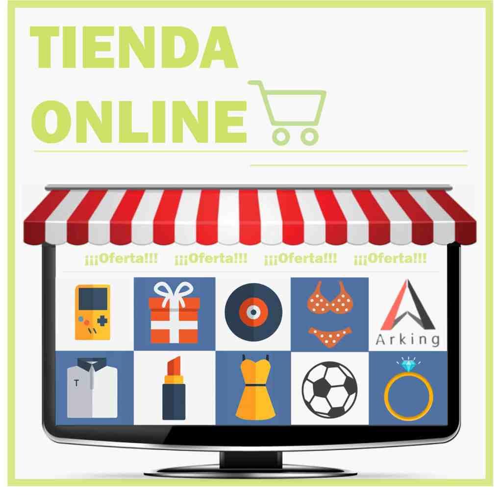 diseño pagina para tienda online
