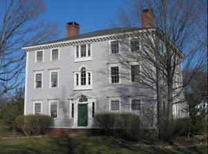 Casa estilo Adam con ventanas Palladio