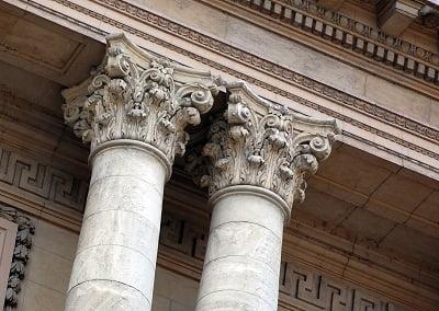 Columnas estilo corintio