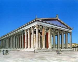Reconstrucción Templo de Zeus