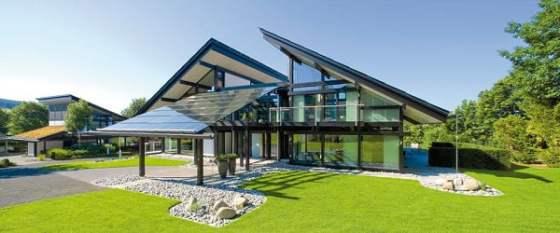 Casa bioclimática en la Patagonia