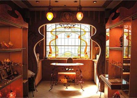 Resultado de imagen de decoracion modernista y art nouveau