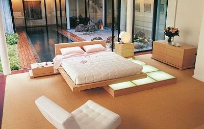 madera de haya dormitorio